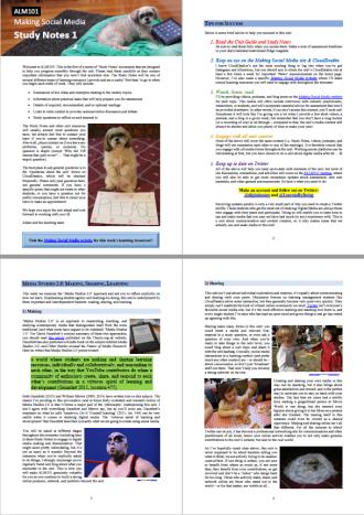 Study Notes screenshot